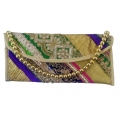 ShoppersCave Embrodiered Hand Clutch
